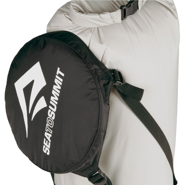 Sea to Summit eVent® Compression Dry Sack 20L Black, White & Orange Large
