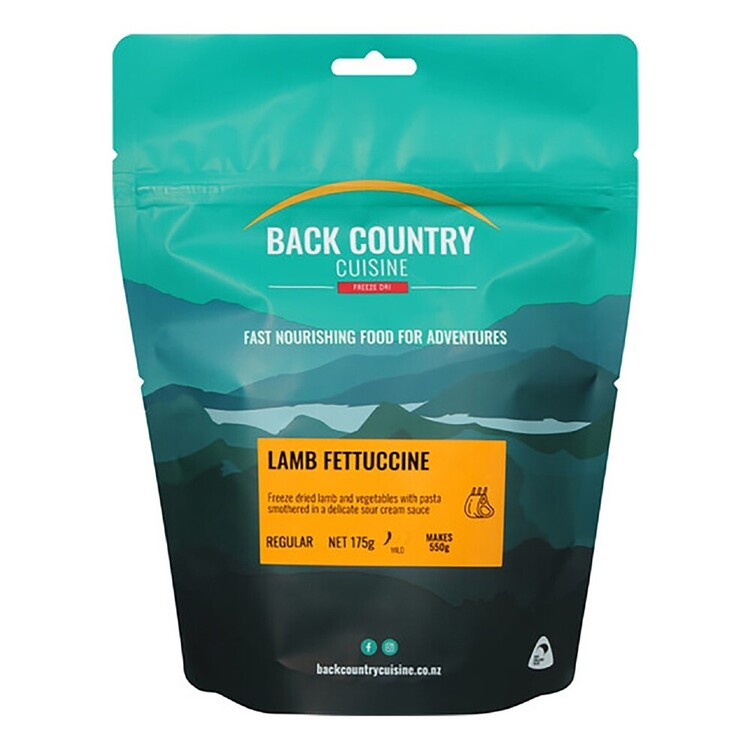 Back Country Cuisine Lamb Fettuccine 2 Serve