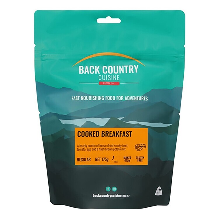 Back Country Cuisine Cooked Breakfast 2 Serve