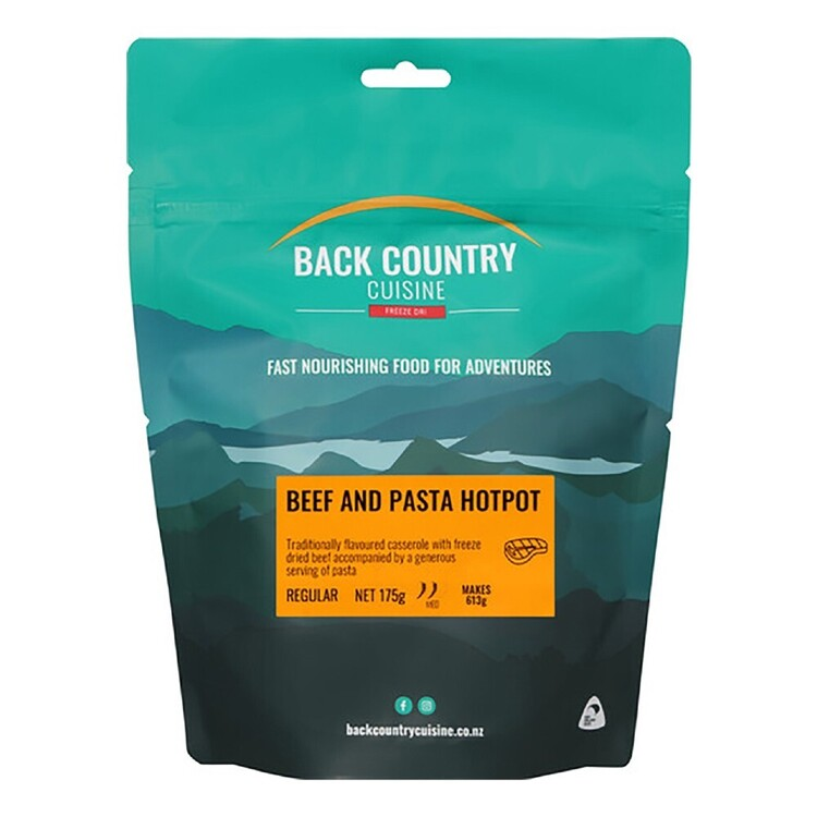 Back Country Cuisine Beef and Pasta Hotpot 2 Serve Multicoloured Double