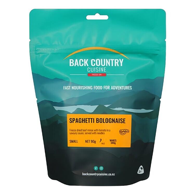 Back Country Cuisine Spaghetti Bolognaise 1 Serve