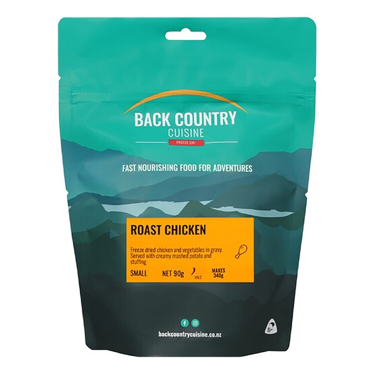 Back Country Cuisine Roast Chicken 1 Serve Multicoloured Single