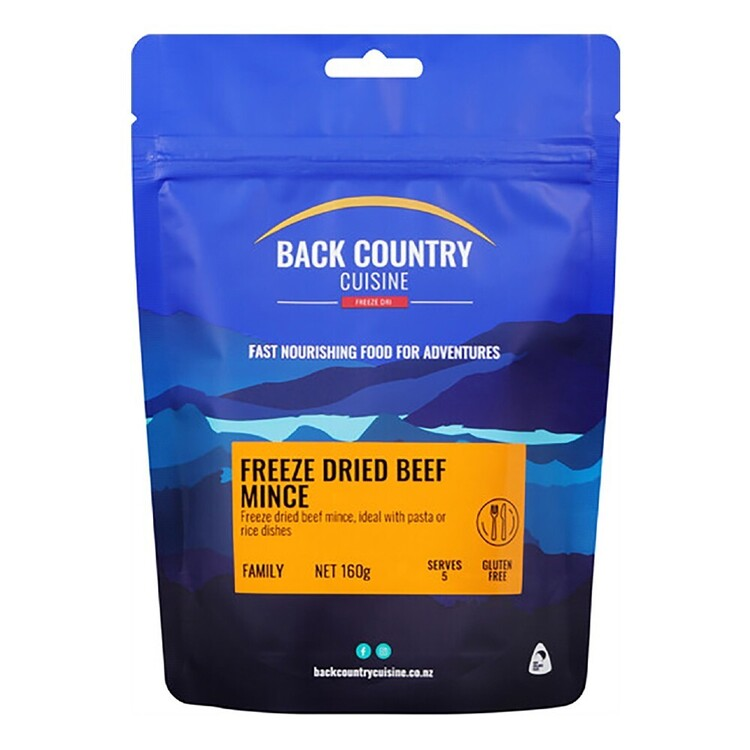 Back Country Cuisine Instant Beef Mince 160g
