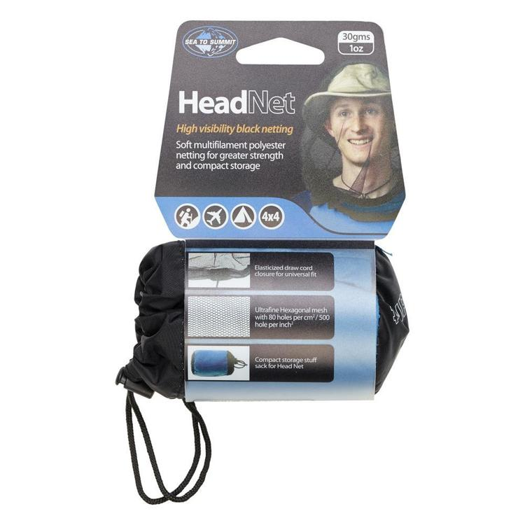 Sea to Summit Mosquito Head Net Black