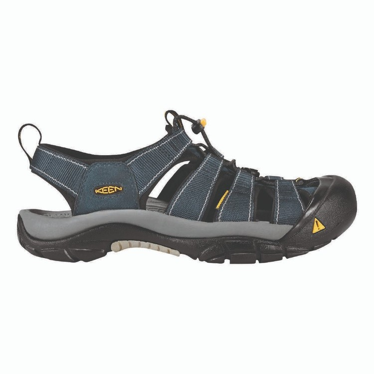 KEEN Men's Newport H2 Sandals Navy & Medium Grey