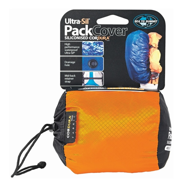 Sea to Summit Ultra-Sil® Pack Cover Medium Orange & Yellow Medium