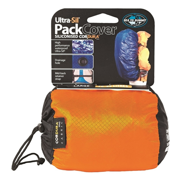 Sea to Summit Ultra-Sil® Pack Cover Large Orange & Yellow Large
