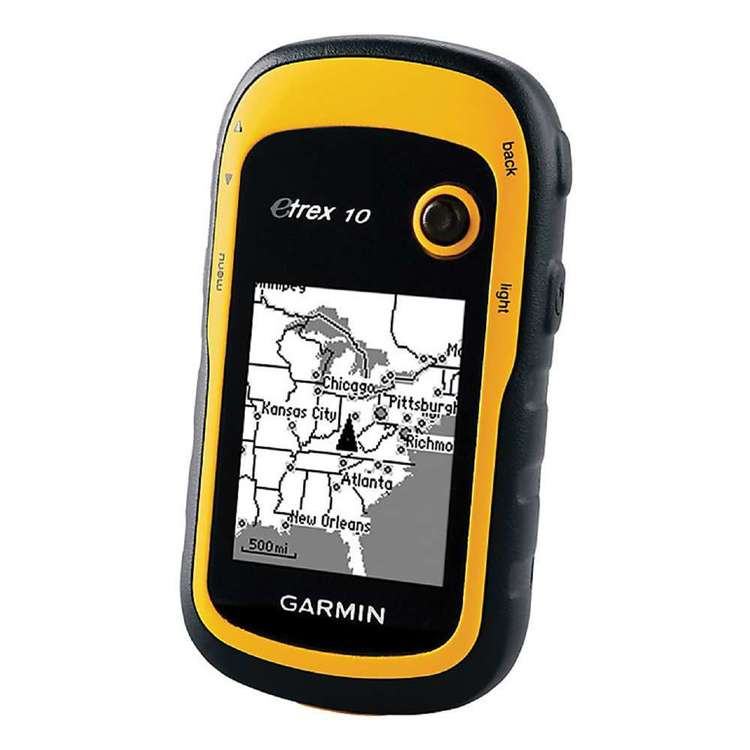 Garmin eTrex® 10 Handheld GPS Black & Yellow