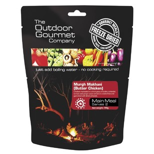The Outdoor Gourmet Company Butter Chicken Double Serve