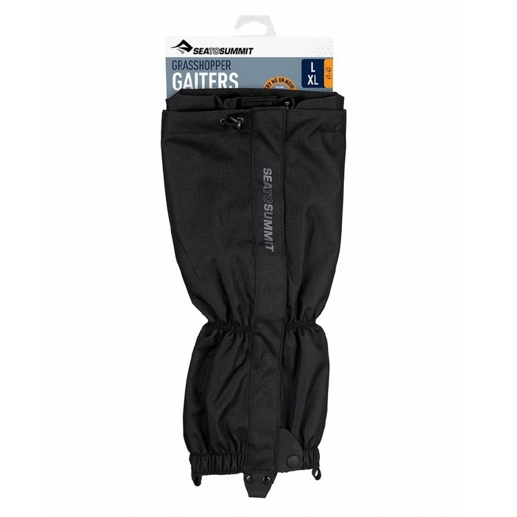 Sea to Summit Grasshopper Gaiters Black