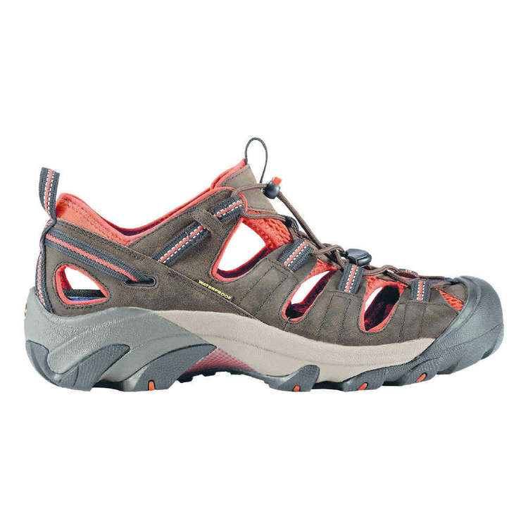 KEEN Men's Arroyo II Sandals Black Olive & Bombay Brown
