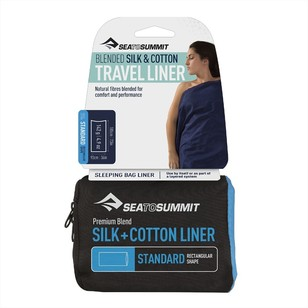 Sea to Summit Silk + Cotton Travel Standard Liner