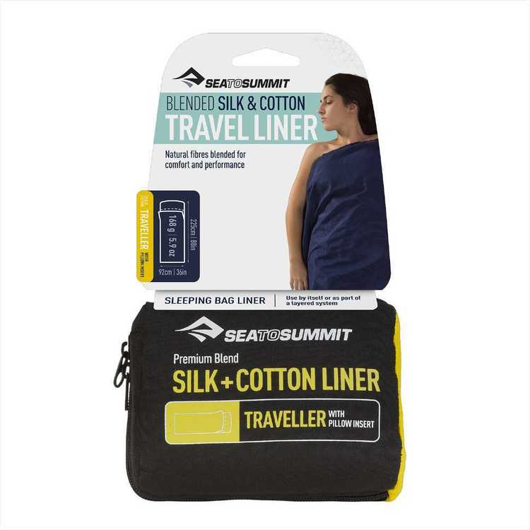 Sea to Summit Silk + Cotton Travel Traveller Liner