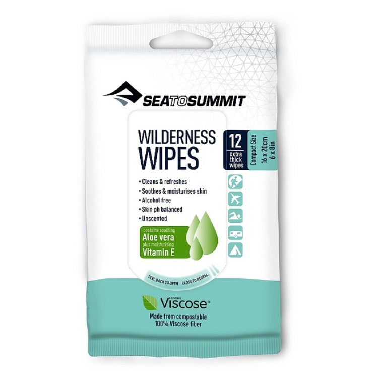 Sea to Summit Wilderness Wipes Compact Clear Compact