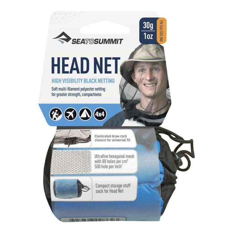 Sea to Summit Nano Insect Head Net Black