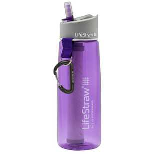 LifeStraw Go 2-Stage Filtration Purple Water Bottle