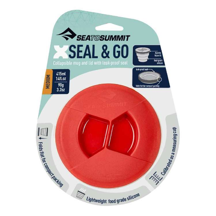 Sea to Summit X-Seal & Go Medium Red Medium