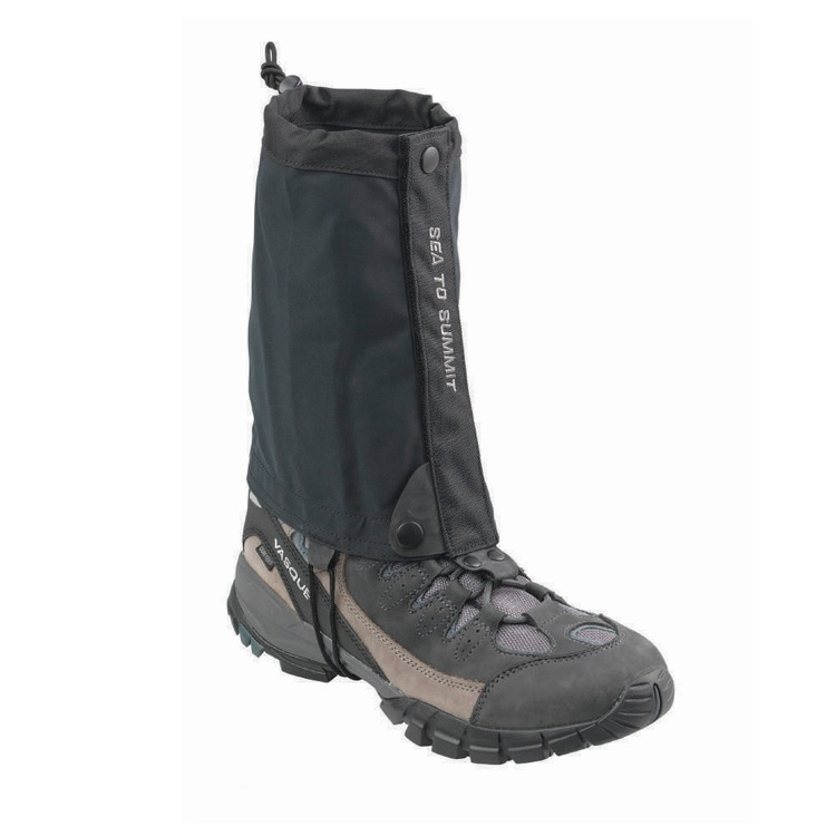 Sea to Summit Spinifex Ankle Gaiters Black One Size Fits Most