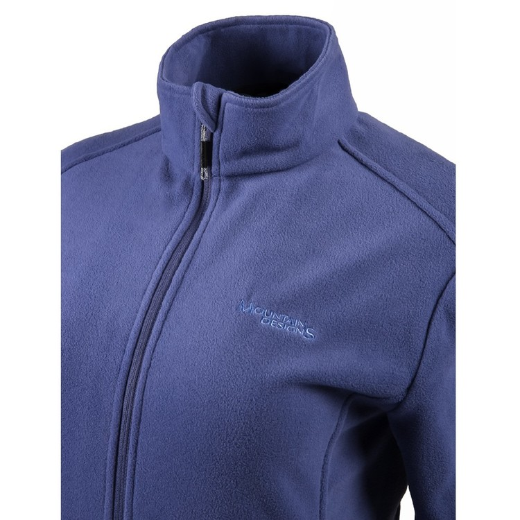 Women's Navis Full Zip Fleece Jacket Skipper Blue
