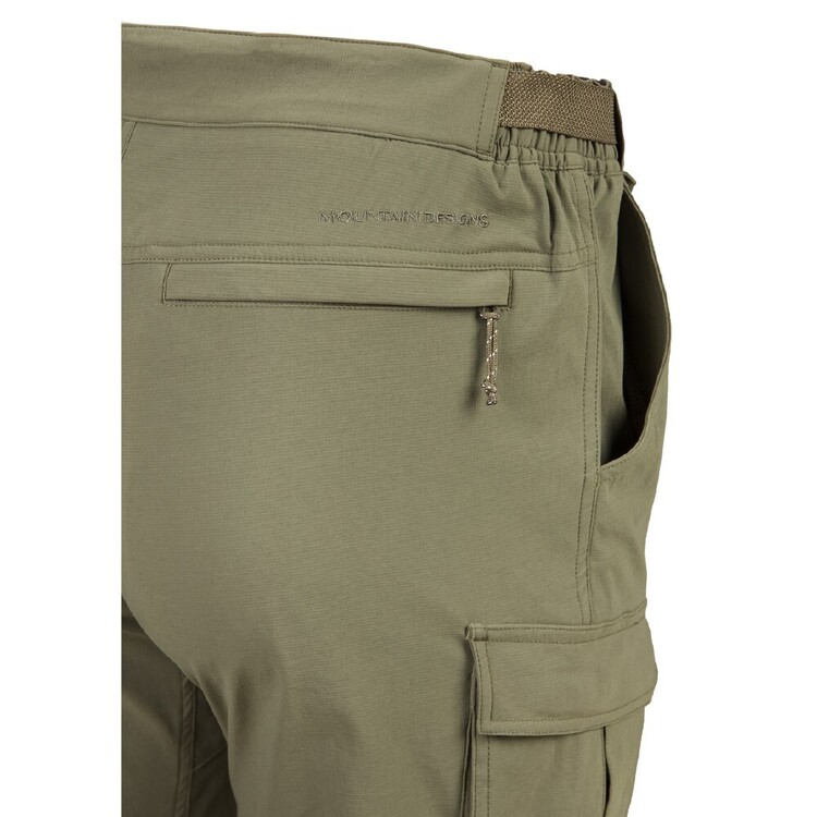 Men's Larapinta Convertible Pant Olive Green X Small