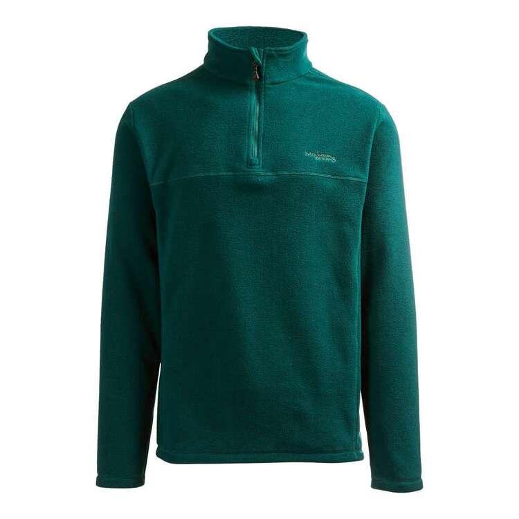 Men's Bruck Quarter Zip Fleece Jacket