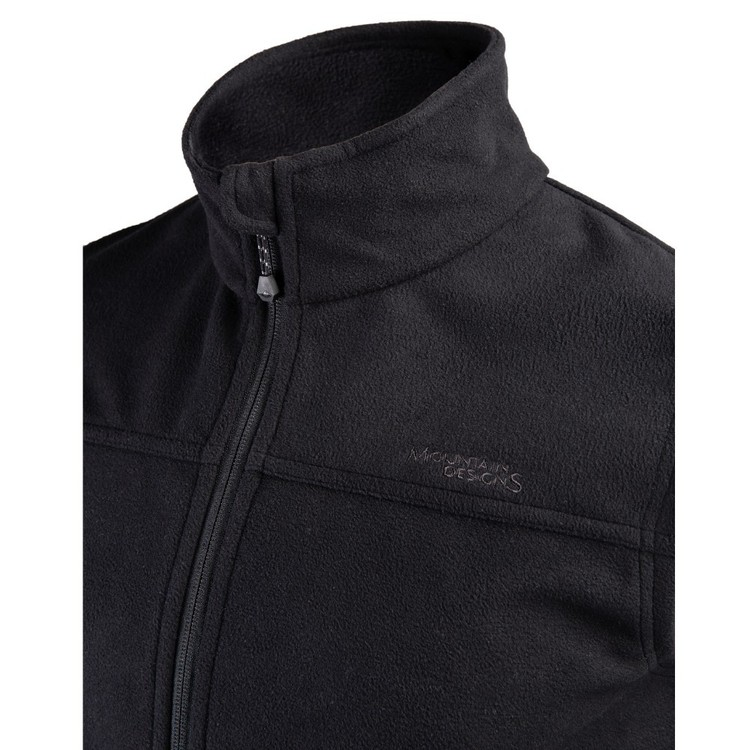 Men's Barrow Full Zip Fleece Vest Black