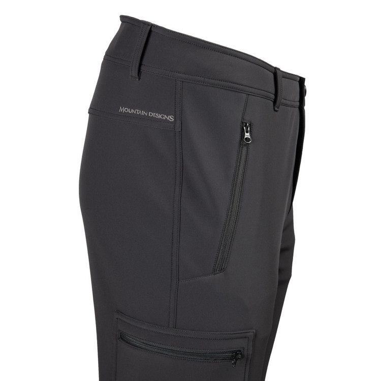 Men's Icestorm Softshell Snow Pant Black