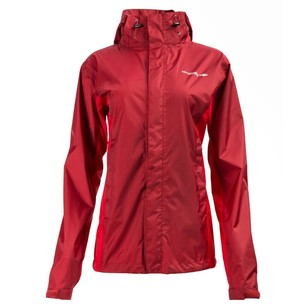 Women's Ellenborough Hooded Jacket Rhubarb & Red