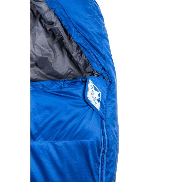 Travelite 700 Down Sleeping Bag (Long) Surf The Web Left Zip