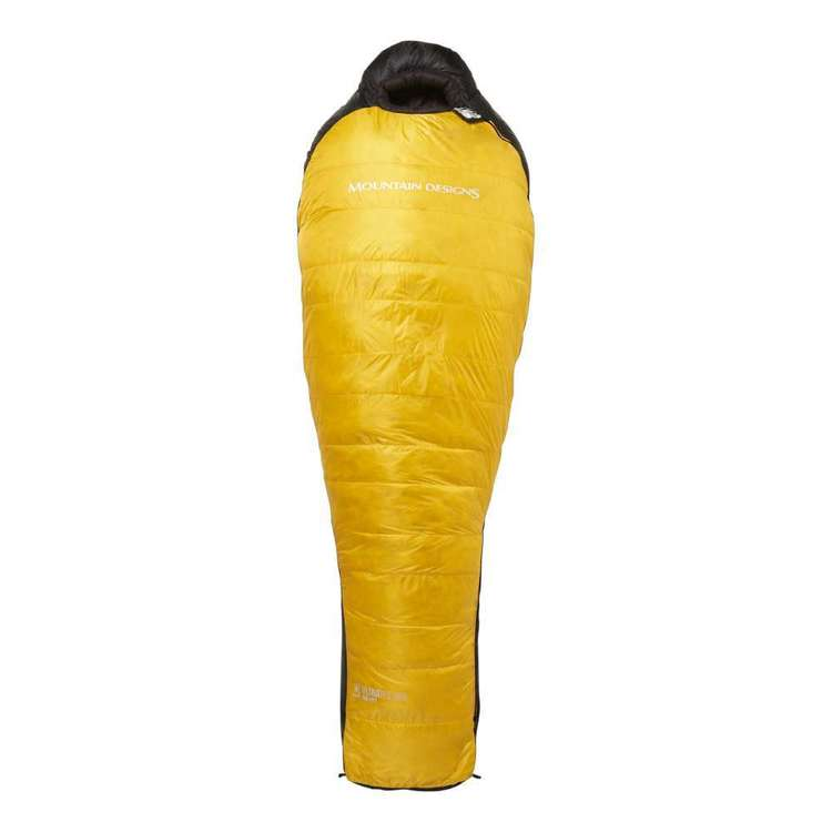 UltraTek 900 Down Sleeping Bag Citrus Left Zip