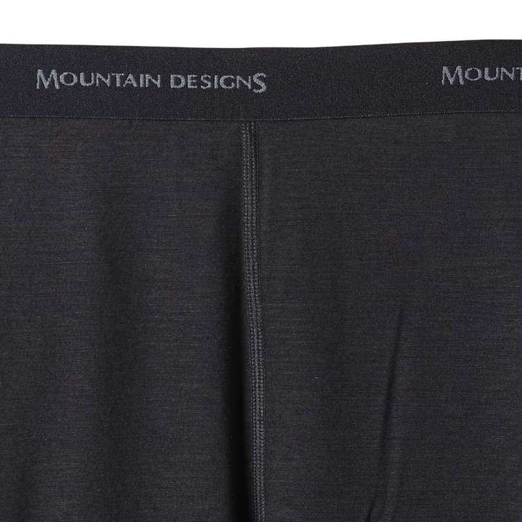Kids' Merino Blend Pants Black