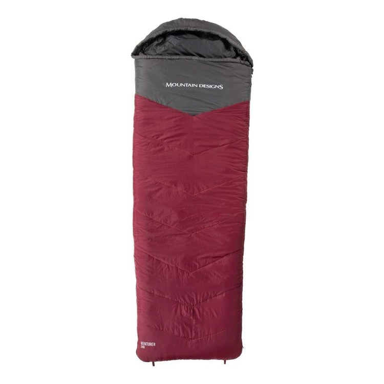 Venturer 200 Synthetic Sleeping Bag Red