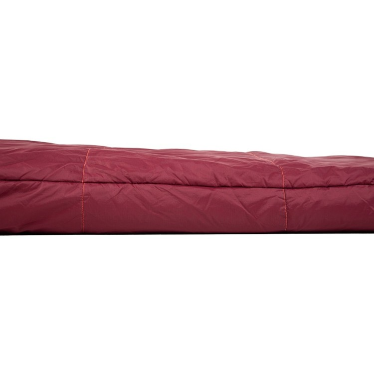 Overlander 200 Synthetic Sleeping Bag Red Dahlia