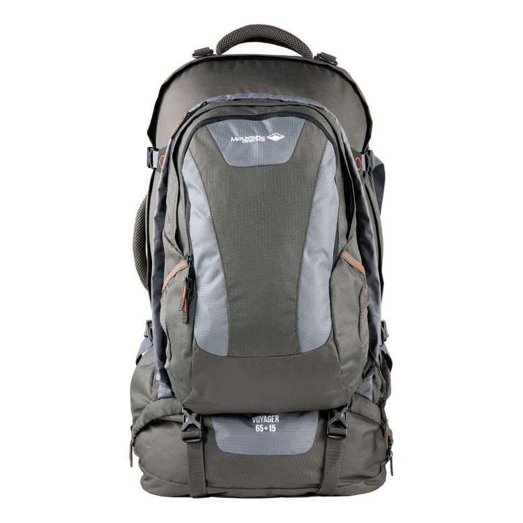 Voyager 65L + 15L Travel Pack Raven 65 + 15 L