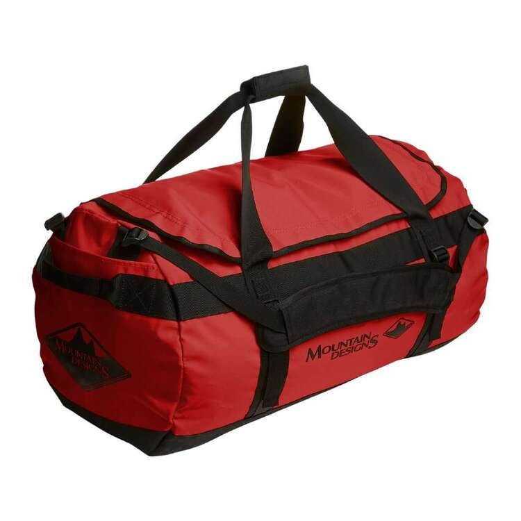 Expedition 50L Duffle Pompeian Red