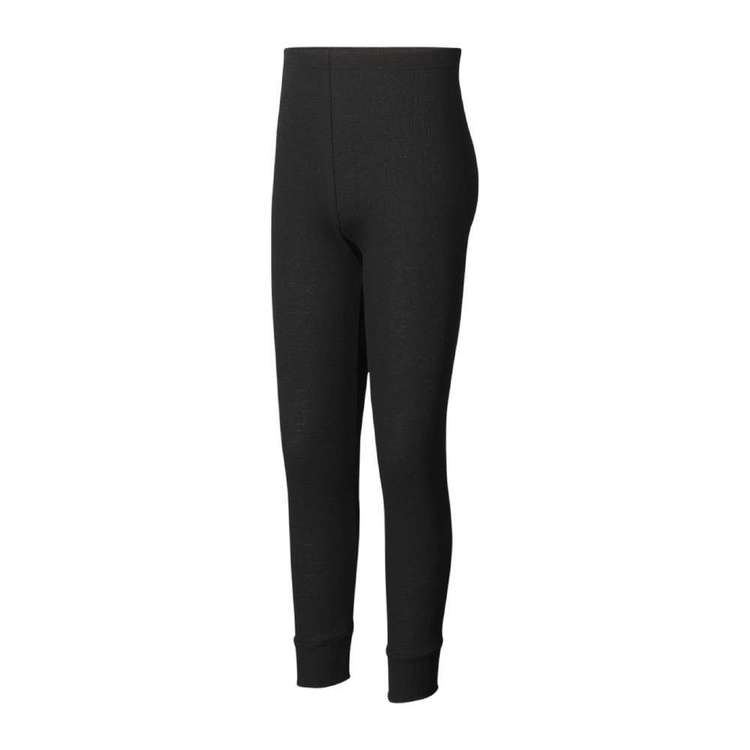 Kids' Polypro Pants Black
