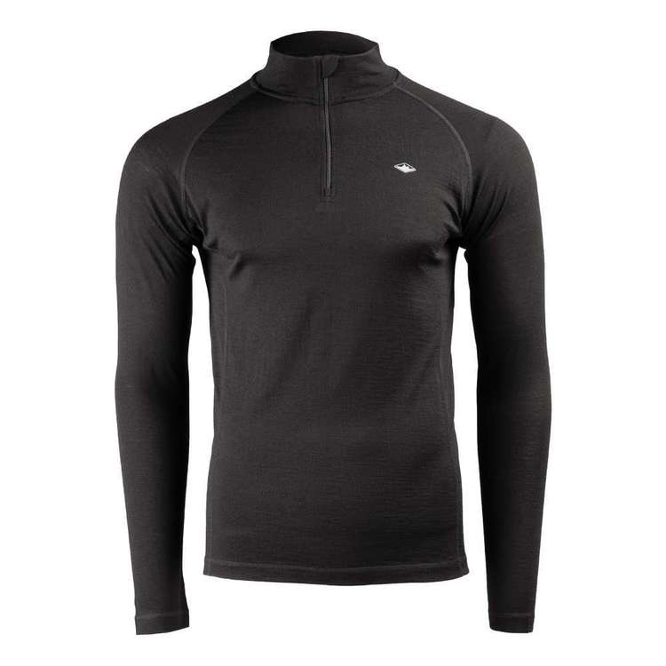 Men's Merino Long sleeve Quarter Zip Top
