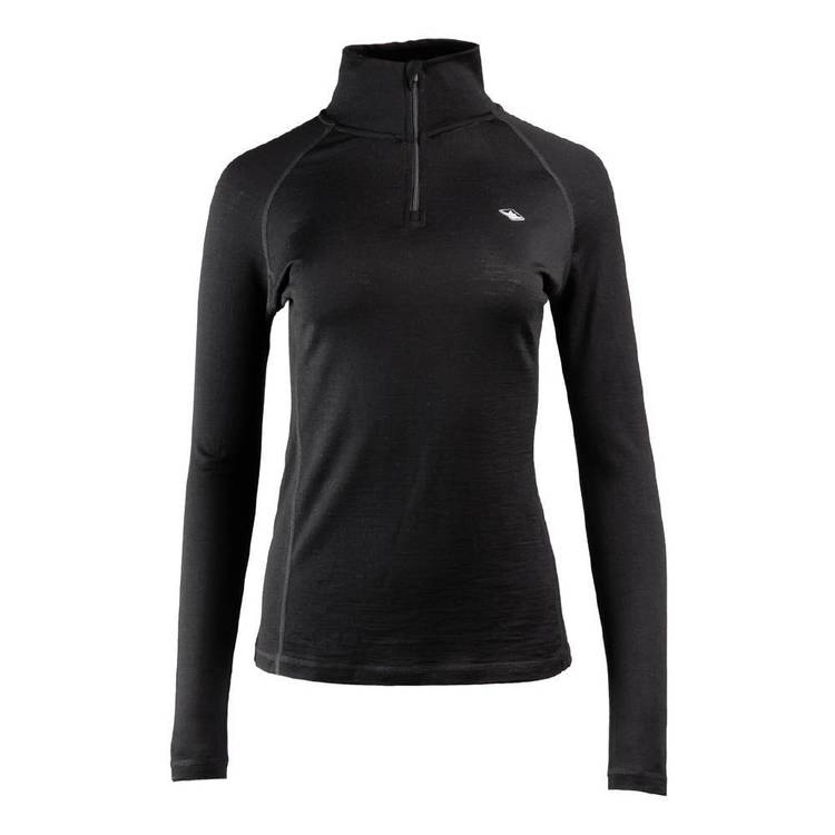 Women's Merino Long Sleeve Quarter Zip Top