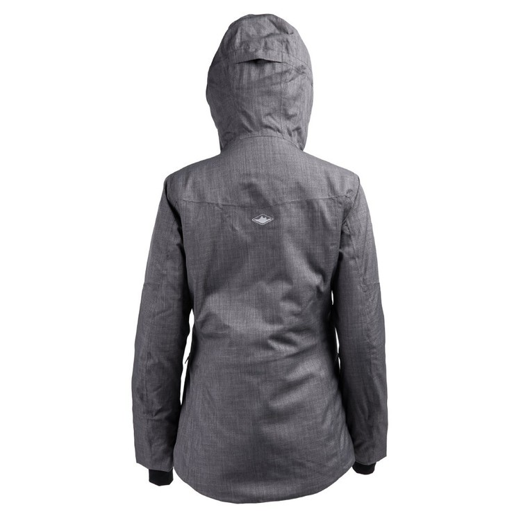 Women's Snowfall Insulated Snow Jacket Charcoal