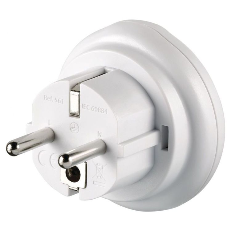Go Travel AUS-EU Adaptor White