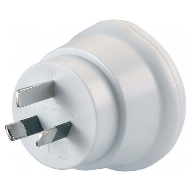 Go Travel EU-AUS Adaptor White