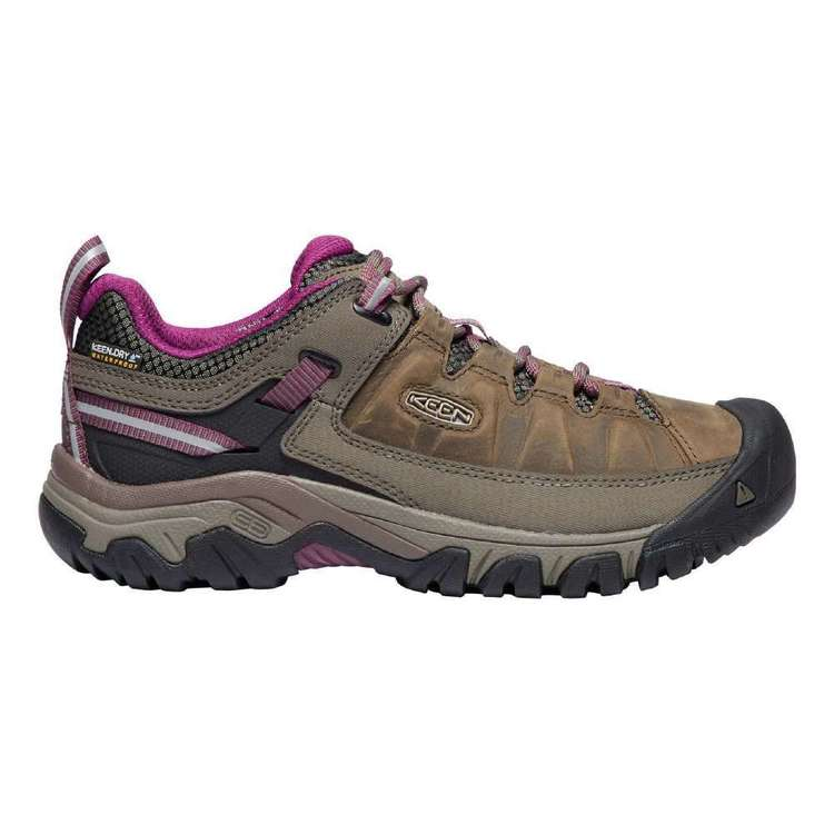 KEEN Women's Targhee III Waterproof Shoes Weiss Boysenberry