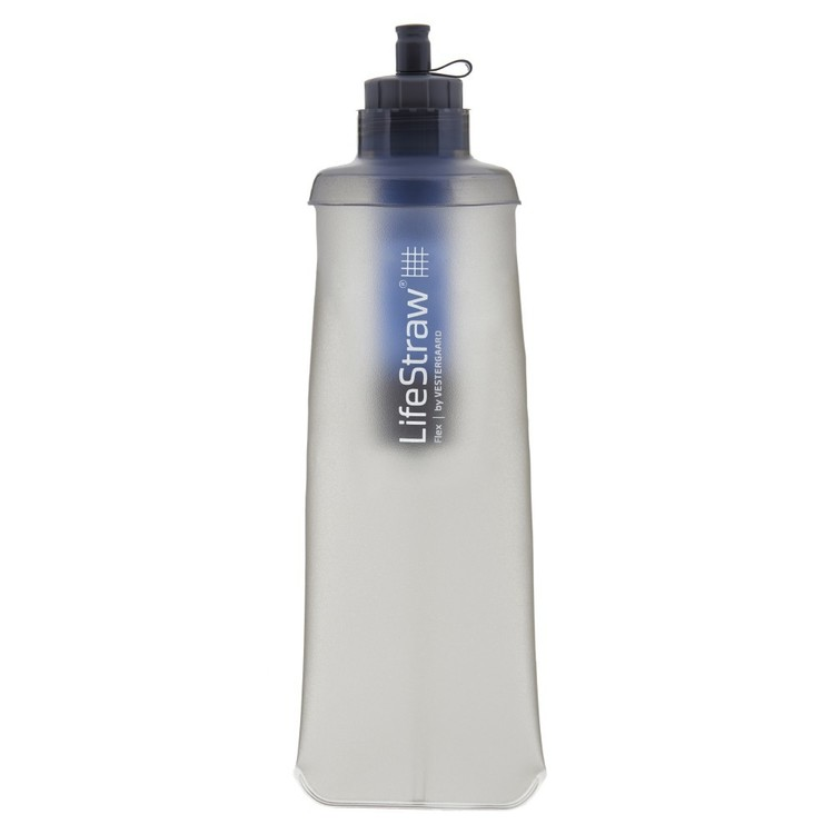 LifeStraw Flex Soft-Touch Water Bottle Grey 600 mL
