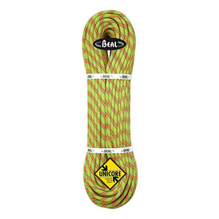 BEAL Booster 9.7mm Dry Cover 70m Climbing Rope Green & Anise