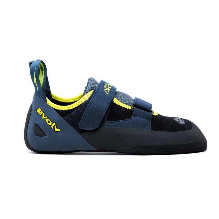 Evolv Defy Unisex Climbing Shoes Navy & Black