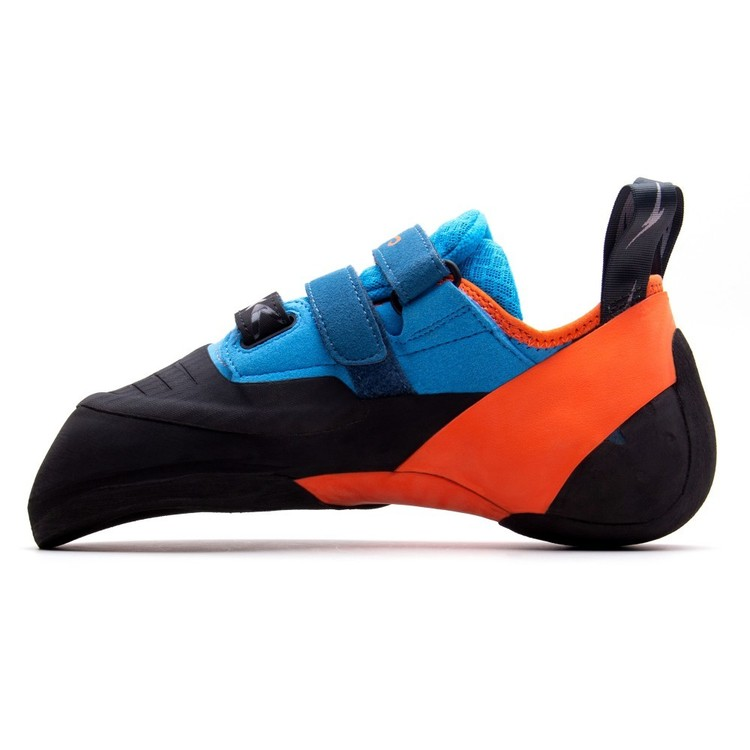 Evolv Shaman Climbing Shoes Blue & Orange