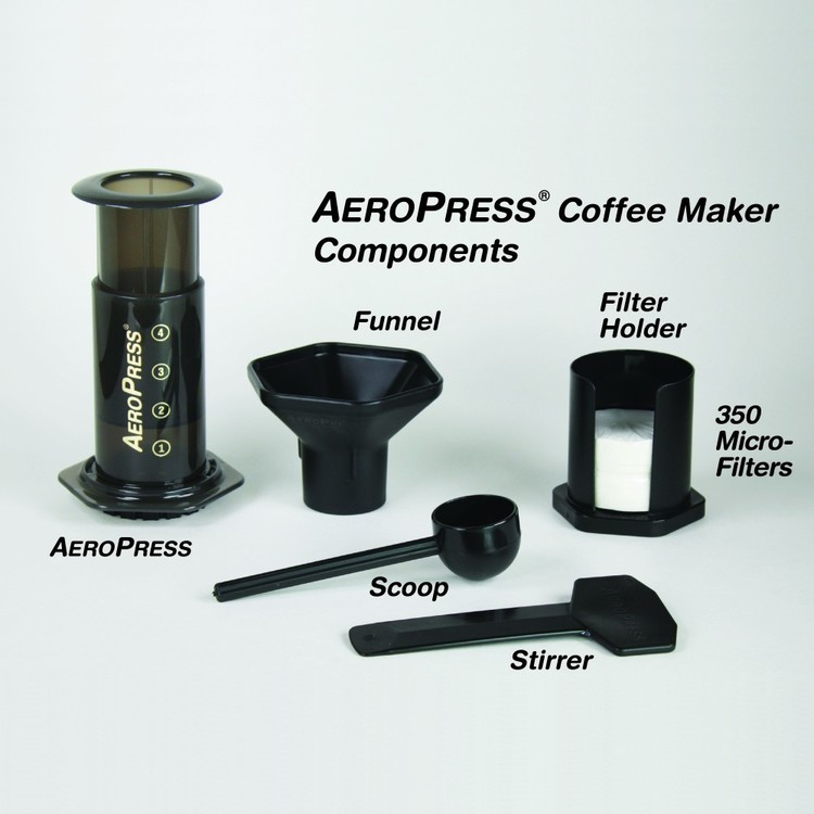 AeroPress Coffee Maker Smoke