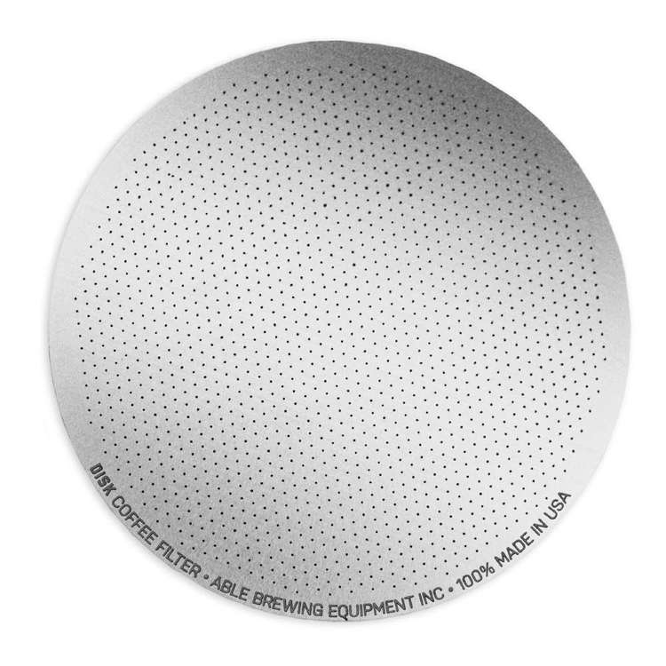 Able Brewing Disk Replacement Filter Silver