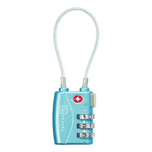 Go Travel Combi Cable TSA Lock
