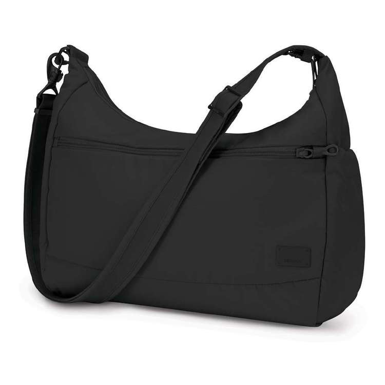 Pacsafe Citysafe CS200 Anti-Theft Travel Handbag Black 10 L